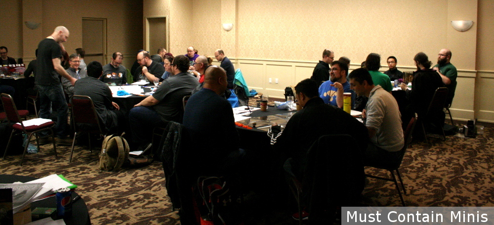 RPG Room at SkyCon in Kitchener Ontario