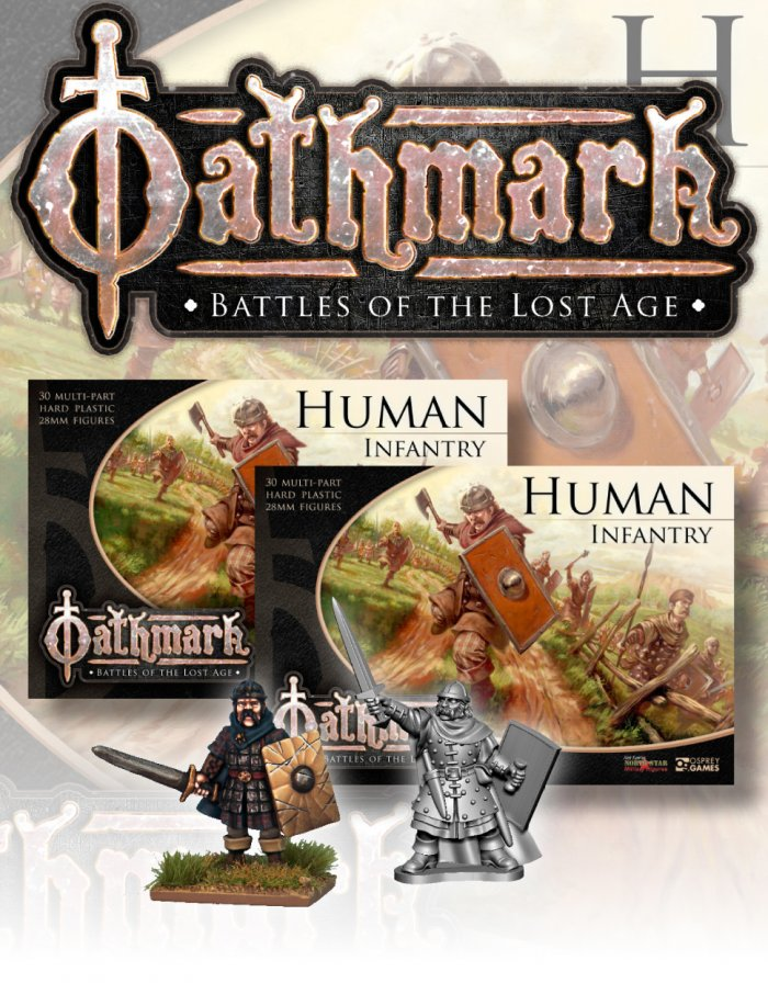 Human Brigade Oathmark Miniatures
