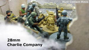 Read more about the article Charlie Company in 28mm