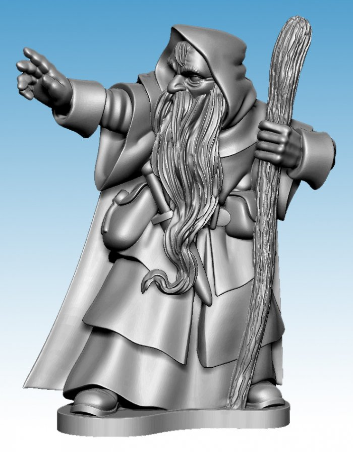 Oathmark Human Wizard
