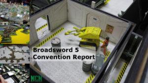 Broadsword 5 Convention Report - Hamilton Gaming Convention 2018 Ontario Canada