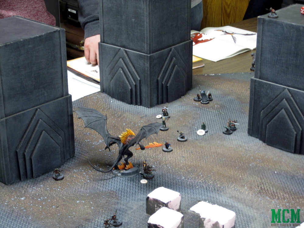 Lord of the Rings Demo Table