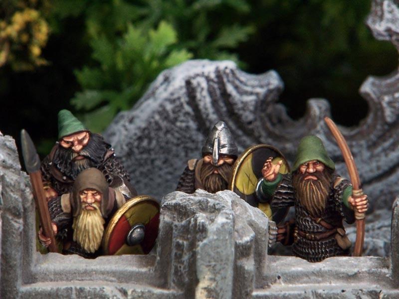 Painted Oathmark Dwarves
