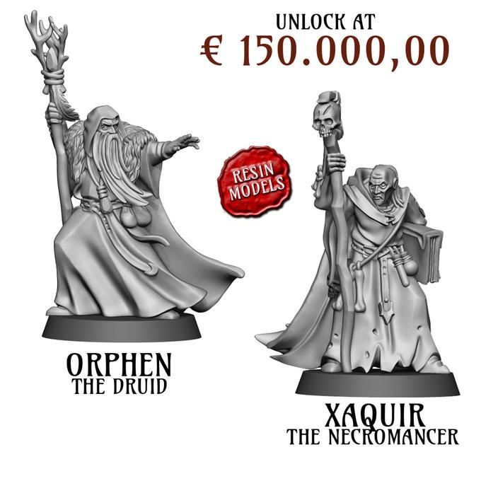 Fireforge Games Forgotten World Wizard and Necromancer