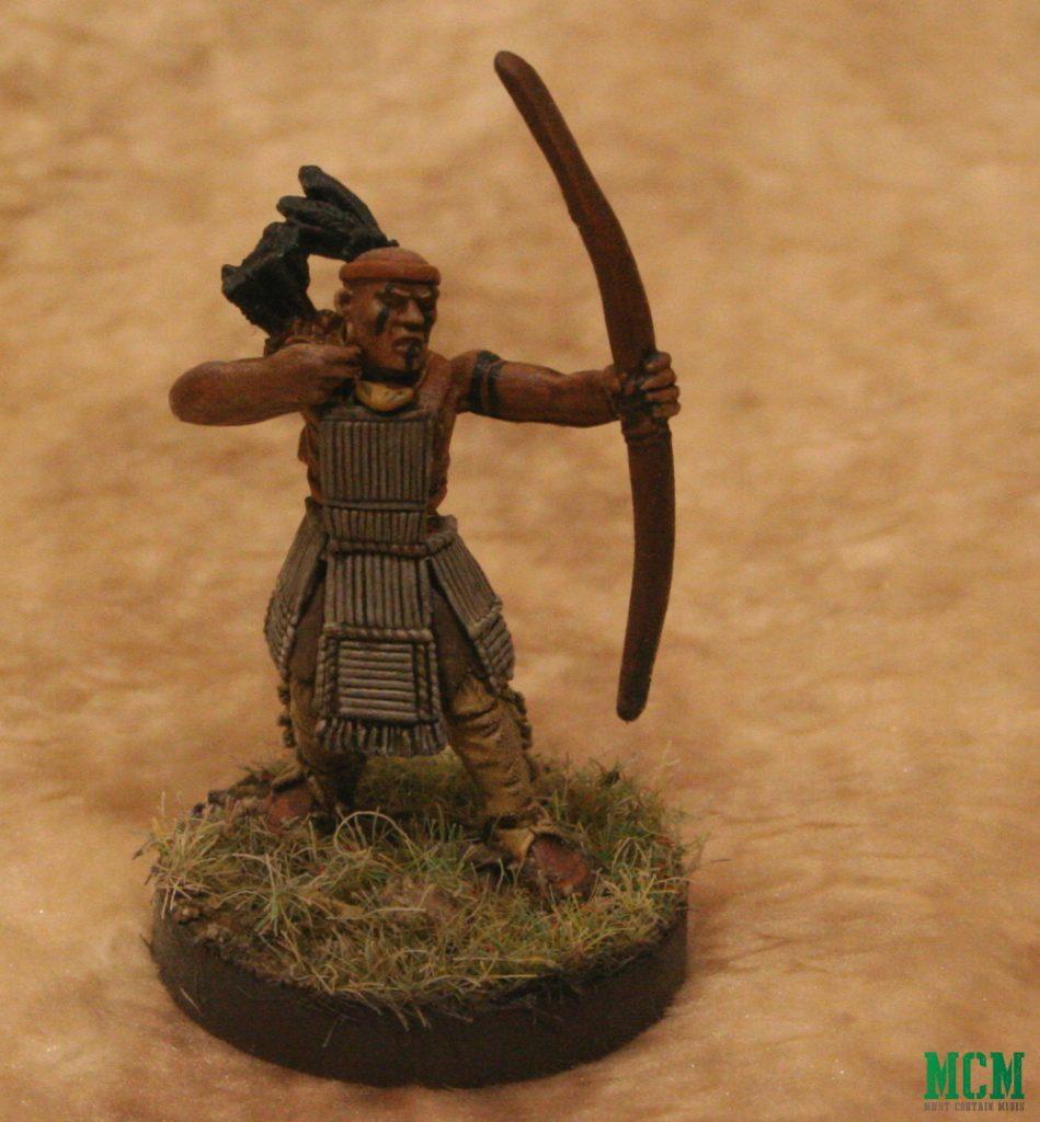 Native American Warrior Miniature 28mm Historical