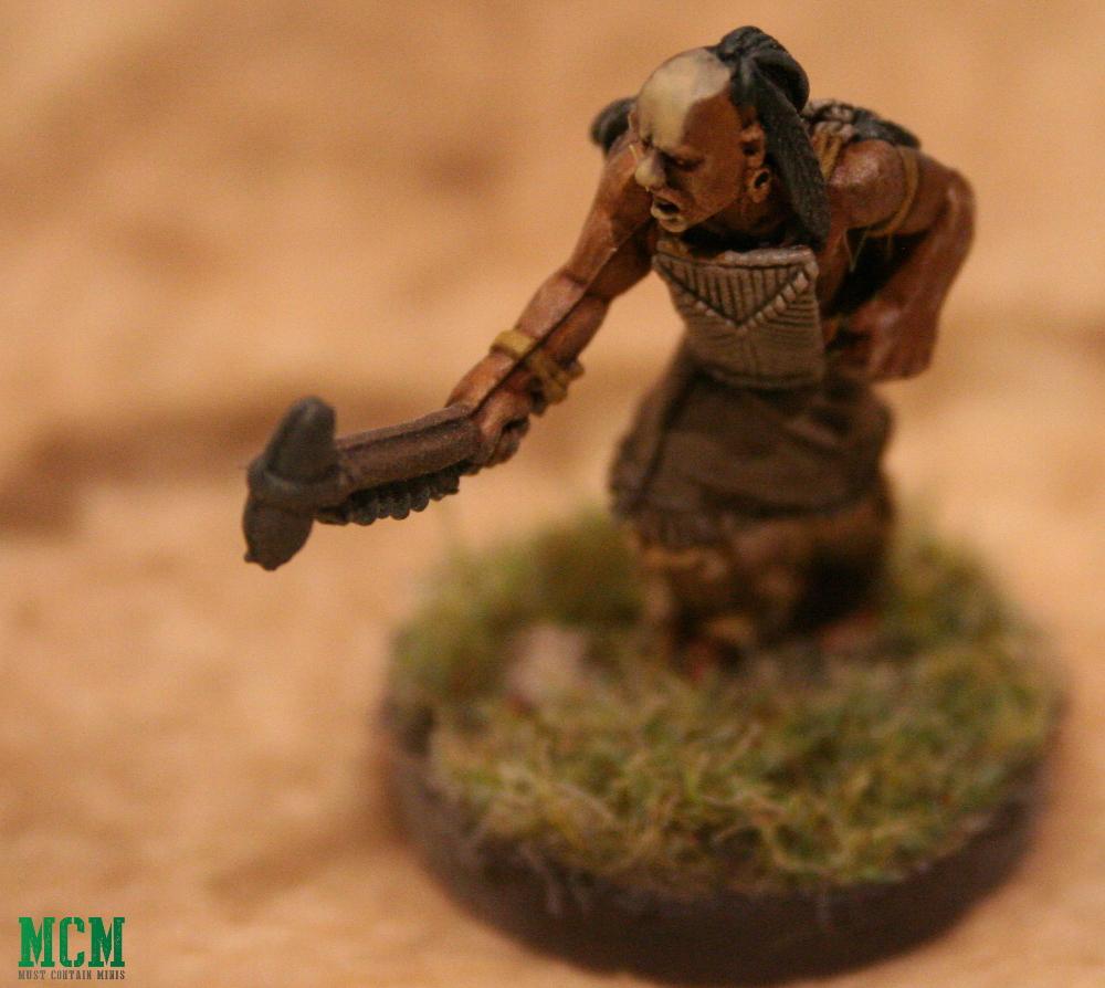 Huron Wendat War Party Minaitures 28mm Indigenous Figurine