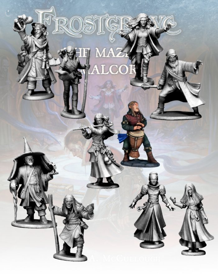 New Frostgrave Wizards