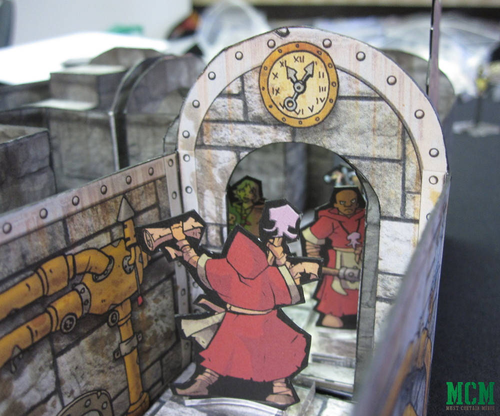 Dungeons and Dragons... Paper Craft Dungeon Crawler