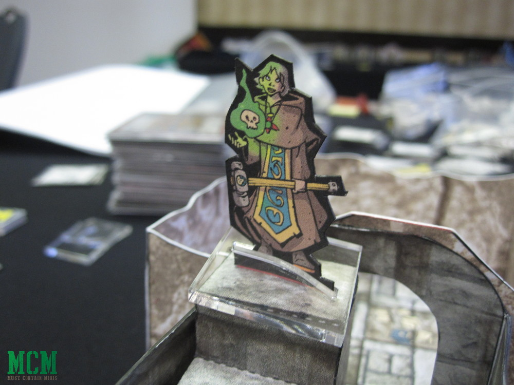 Pathfinder paper terrain - Dungeon and Stairs