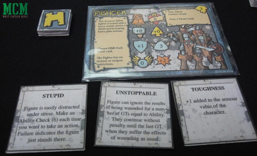 Darkfast Dungeons Character Card