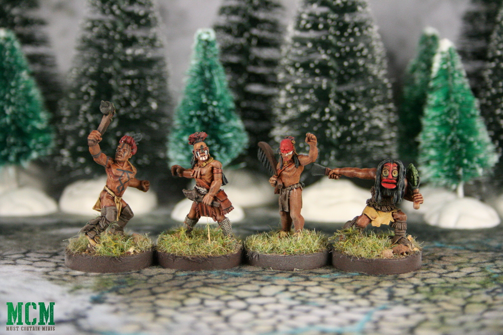 Native American Miniatures for Historical Wargaming