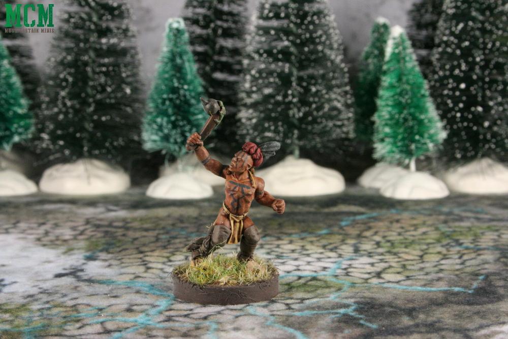 Huron Warrior Miniature by Crucible Crush