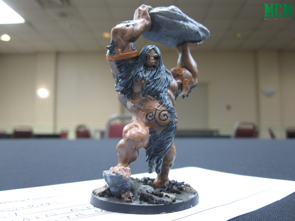 Frost Giant by CMON in Blood Rage - Painting Contest