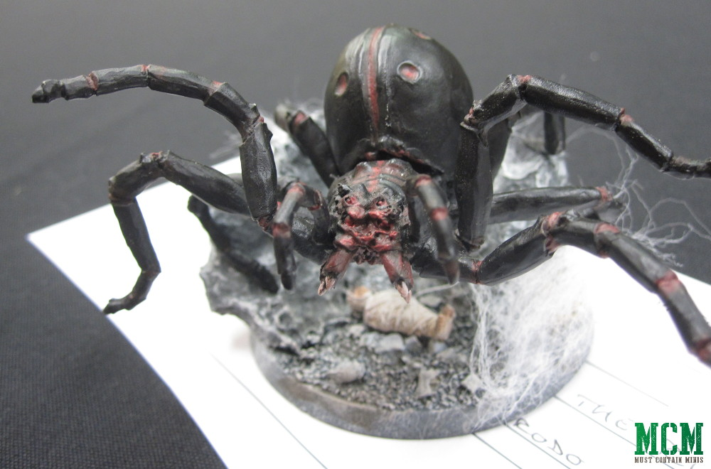 Lord of the Rings Spider from the Hobbit Miniatures Game