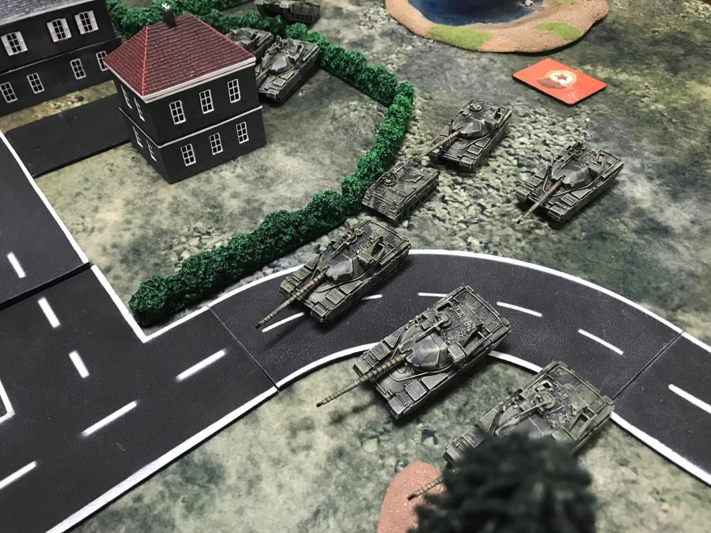 Team Yankee World War 3 15mm tanks