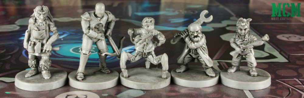 The Gnomad miniatures of Wildlands the Board Game Showcase Article