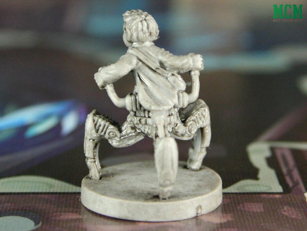 Steam Punk Girl Miniature - Wildlands by Osprey Games