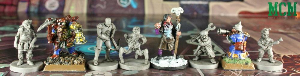 Wildlands Miniatures Scale Comparison - Miniatures by Osprey Games