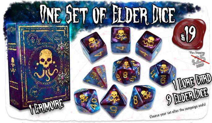 Elder Dice Kickstarter