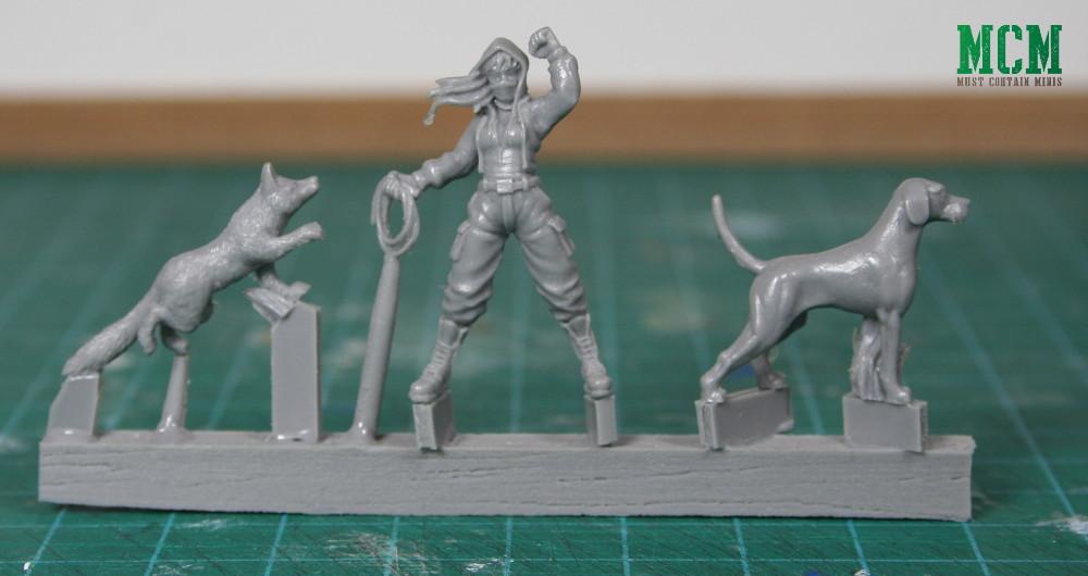 Hunt Saboteur miniature - Tally Ho Games