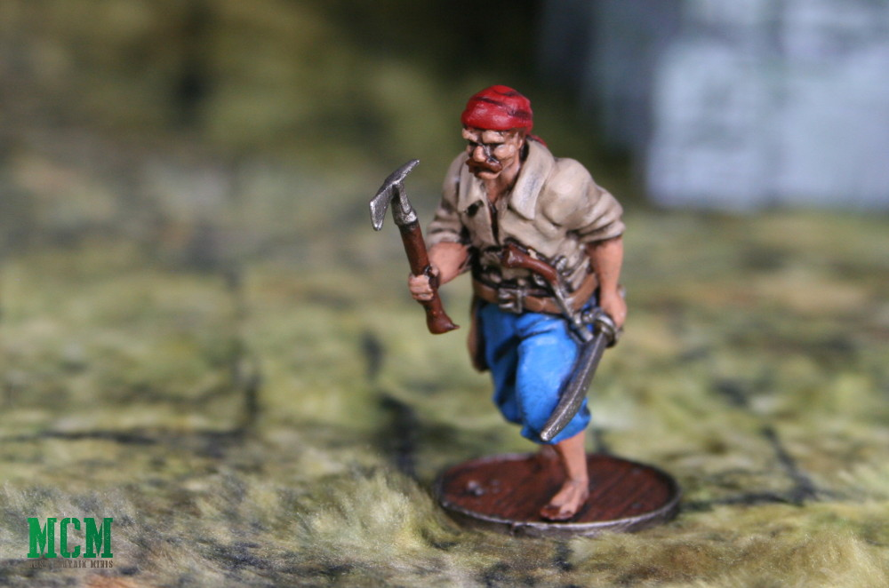Spanish Painted 32mm Marineros Miniature for Blood and Plunder