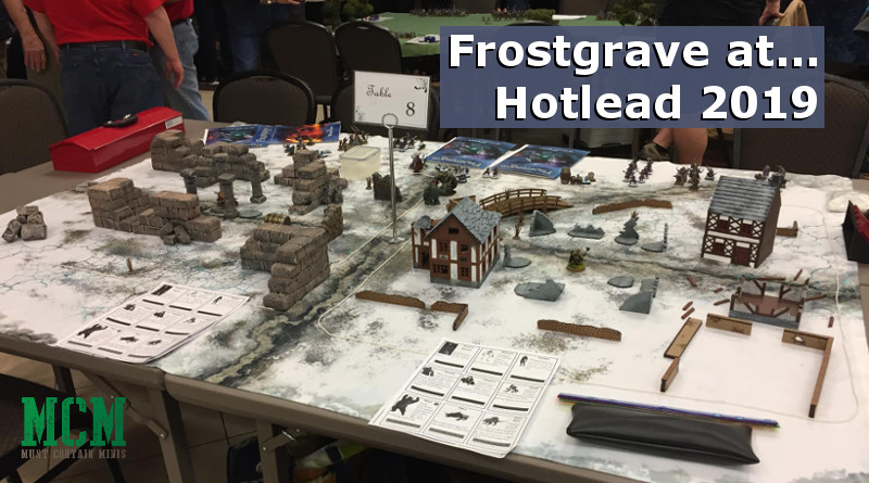 Read more about the article Frostgrave at Hotlead 2019