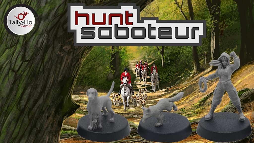 Read more about the article Hunt Saboteur Kickstarter