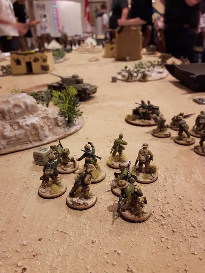 Desert armies on Bolt Action Tabletop - INCOMING 2019