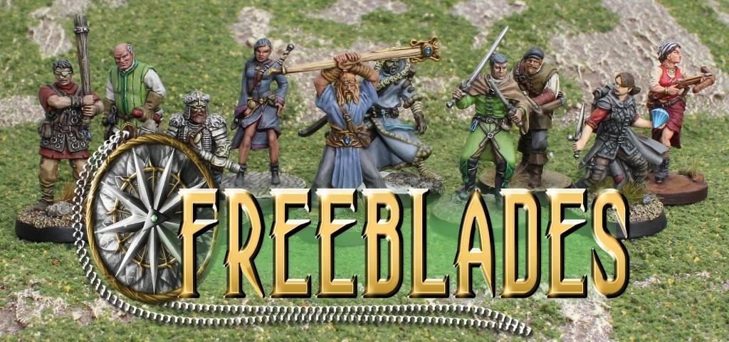 DGS Games Freeblades Miniatures