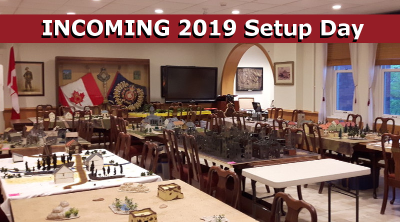 Read more about the article INCOMING 2019 Setup Day