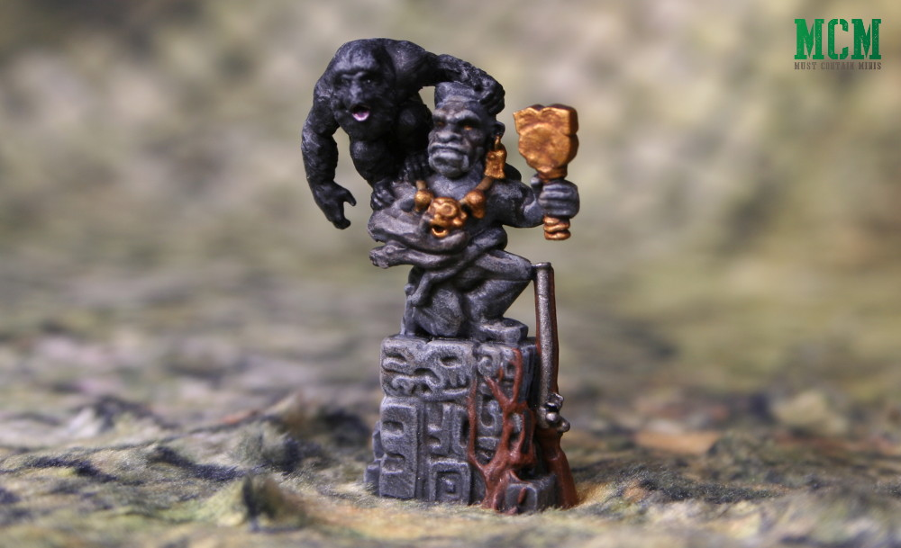 Firelock Games' BlunderMonkey - Painted by Andrew Claessens of Forbes Hobbies - Blood and Plunder