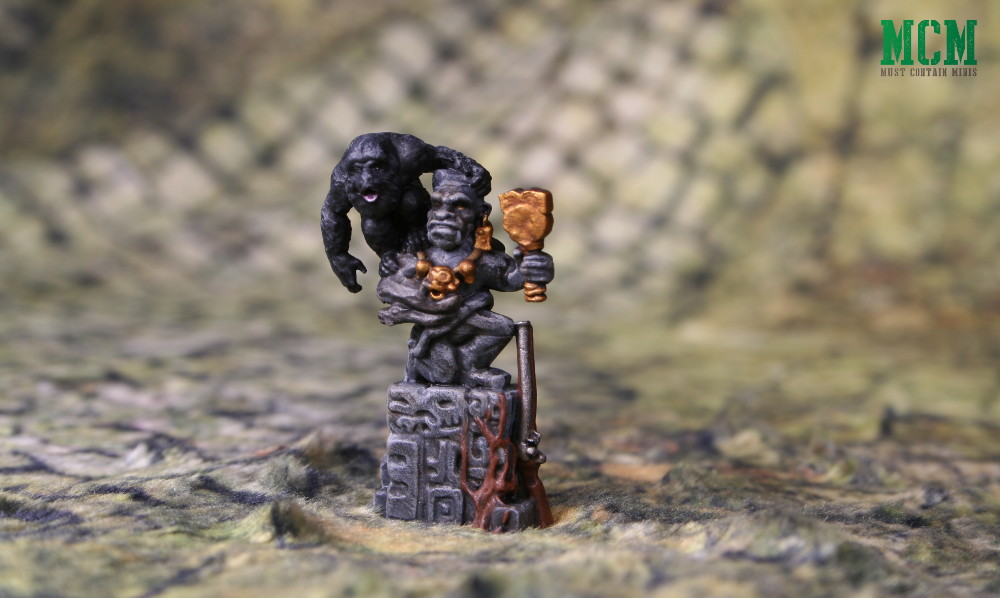 Firelock Games' BlunderMonkey as painted by Andrew Claessens