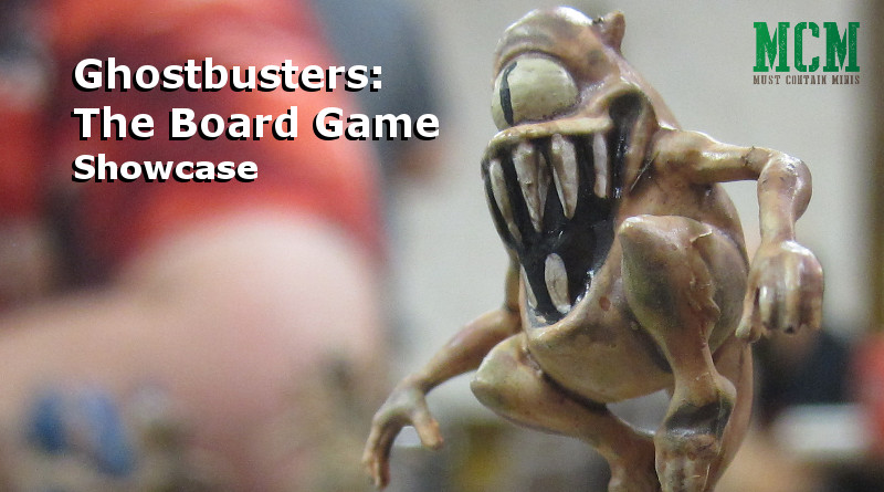 Read more about the article Miniatures of the Ghostbusters Board Game