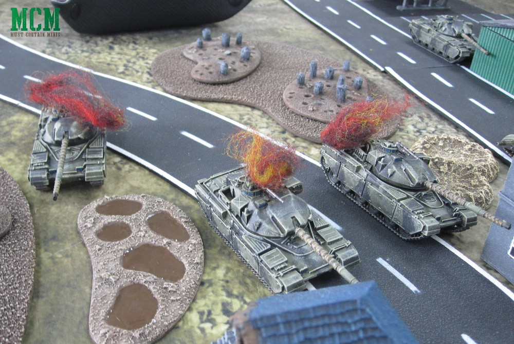 Team Yankee Battle Report - British