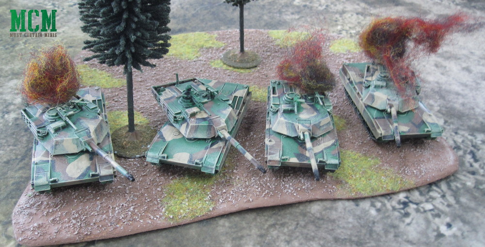 15mm M1 Abrams Miniatures