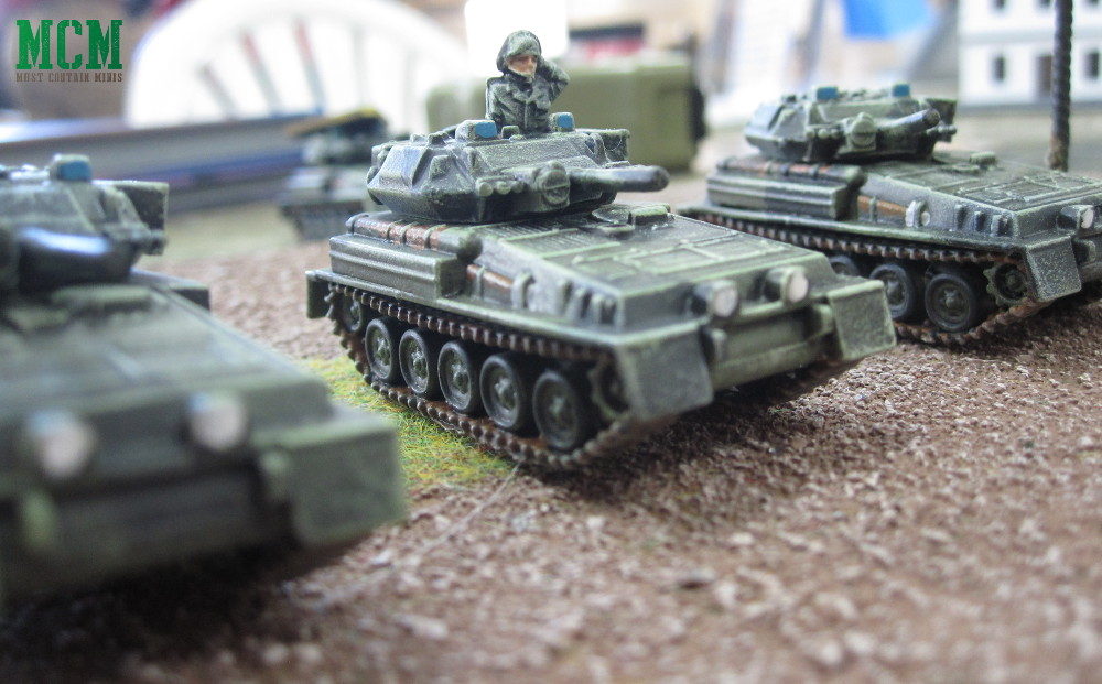 Team Yankee Painted Miniature Scorpion Tanks