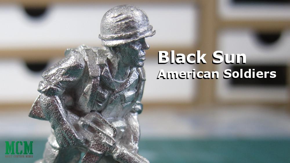 US Army Miniatures from Vietnam War - Black Sun 28mm
