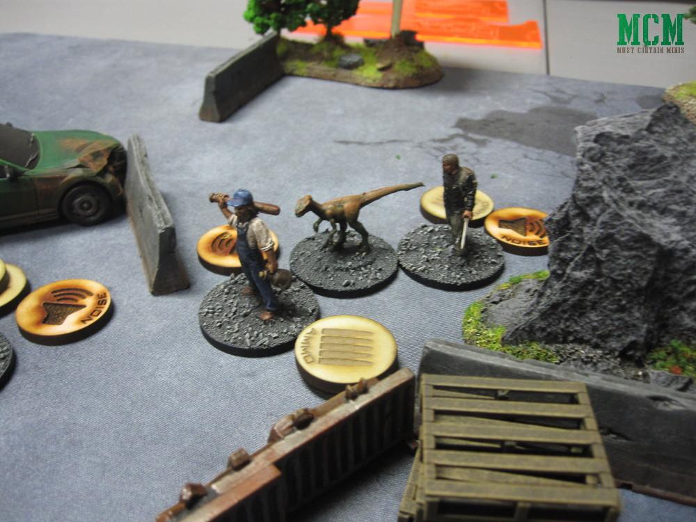 Carniverse 28mm dinosaur Miniatures game Battle Report