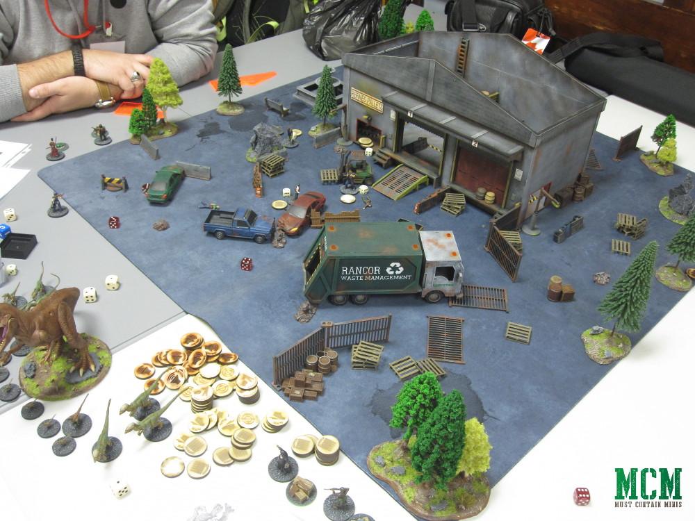 Carniverse Battle Report - Terrain by TT Combat