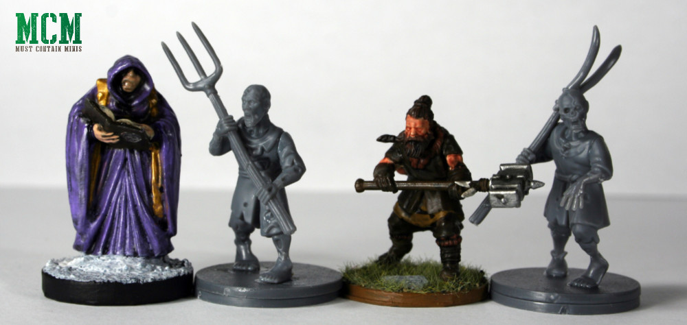 Scale Comparison of Miniatures - Reaper Miniatures vs Fireforge Games vs North Star Military Figures