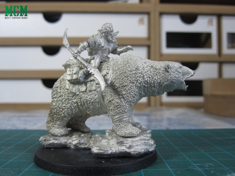 DGS Games Stoneclaw Savage Miniature