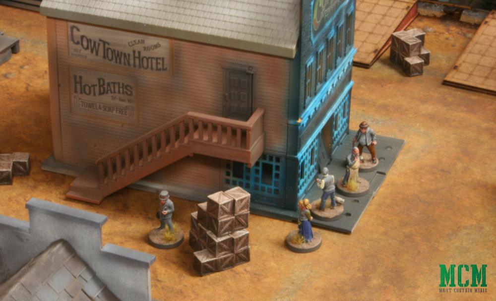 Civilians in miniatures Games