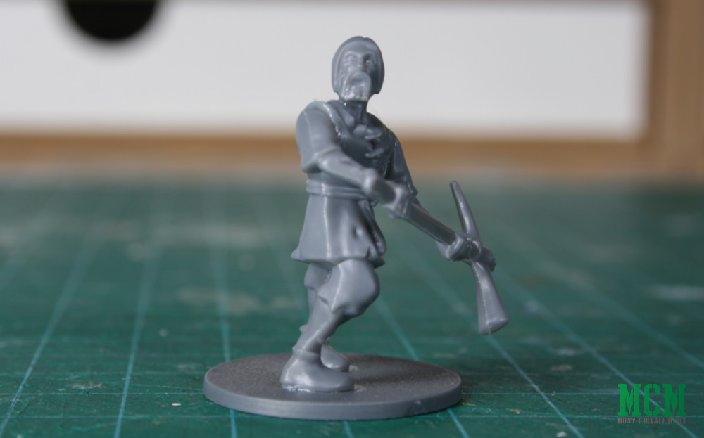 28mm Fantasy Zombie Review - Living Dead Peasants by Fireforge Games - Forgotten World
