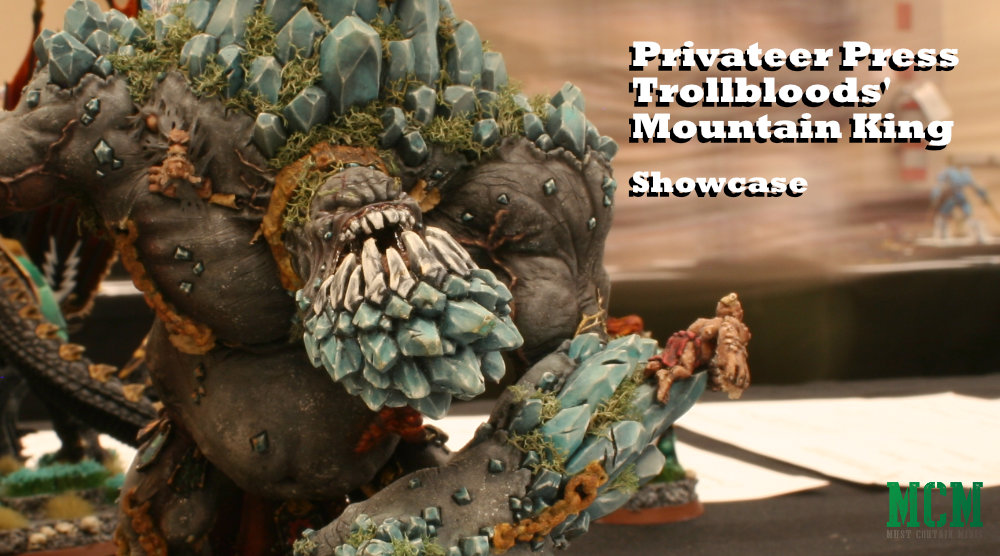 Trollblood Mountain King Miniature at Sword and Brush 2019
