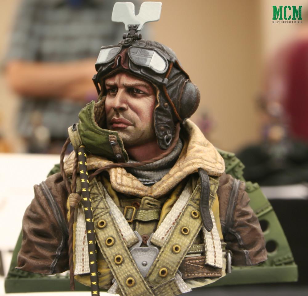 Spitfire RAF Pilot Miniature - Bust