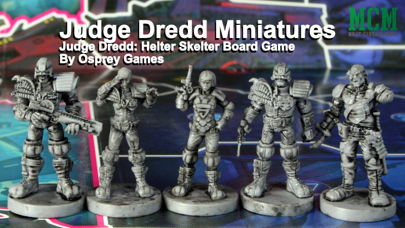 You are currently viewing Judge Dredd: Helter Skelter Miniatures