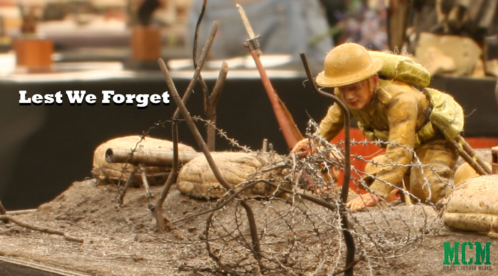 Lest We Forget - World War One Soldiers on Remembrance Day