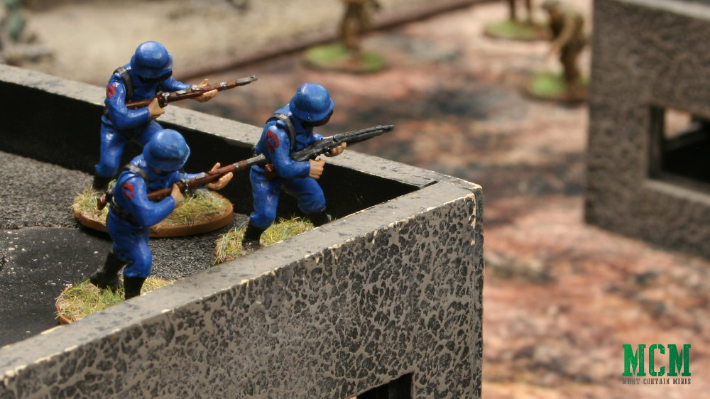 Warlord Games Miniatures done up as Cobra of G.I. Joe 28mm miniatures.