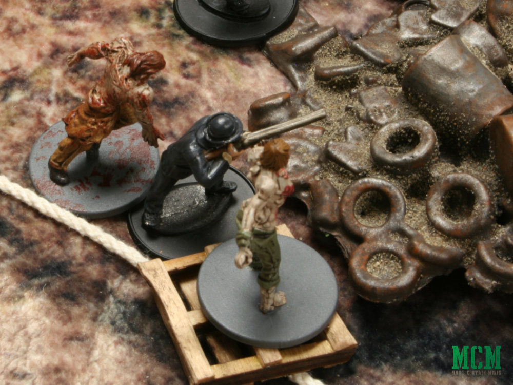 Last Days using miniatures by Warlord Games and Zombicide by CMON
