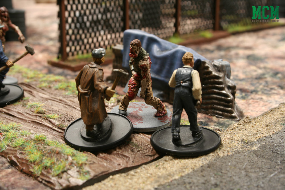 Zombie Miniatures Game of Survival by Osprey Games